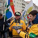 Шествие в поддержку ввода войск в Крым