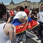 Чемпионский парад хоккеистов сборной России