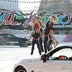 Дрифт на Красной площади