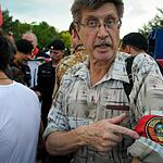 Митинг в поддержку жителей Донецкой и Луганской народных республик