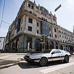 Ретро-ралли в Москве