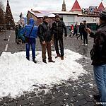 Москвичи отмечают Новый год