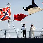 Военно-моской парад в честь Дня ВМФ России