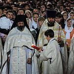 Пасхальное богослужение в Храме Христа Спасителя
