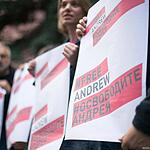 Пикет в поддержку Андрея Стенина