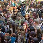 Бой подушками и фестиваль красок
