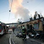 Пожар на Пятницкой улице