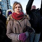 Прощание с белорусским активистом