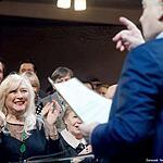 Олег Табаков открыл театральный сезон и памятник Станиславскому и Немировичу-Данченко