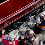 Парад трамваев на Чистых прудах