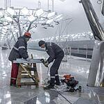 Строительство метро Тропарёво
