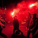 В Москве прошла акция в годовщину Майдана