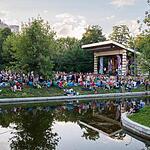 Выступление Веры Полозковой в парке «Красная Пресня»