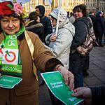 Пикет партии «Яблоко»