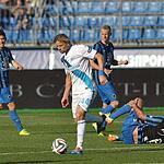 Зенит сыграл вничью с Брюгге на Петровском