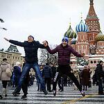 Москвичи гуляют