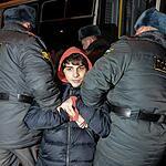 Участников пикета против пыток заключенных задержали