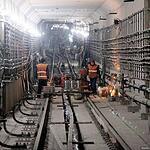 Работа в тоннелях кипит!
