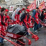 Первомайское шествие коммунистов