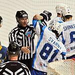 Атлант второй раз за два дня одолел Динамо Минск и сохранил интригу на Западе