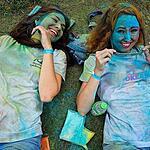 Фестиваль красок Холи во Владивостоке