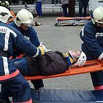 На ВДНХ прошёл конкурс спасателей