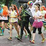 Красочный забег в Лужниках