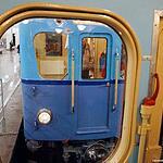 Выставка ретровагонов, посвящённая 80-летию Московского метрополитена