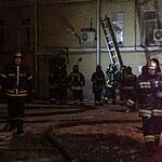 Пожар в Таганском суде Москвы