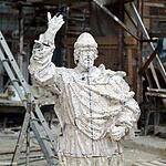 Скульптор Салават Щербаков представил своего Князя Владимира