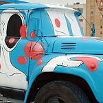 Пять грузовиков ЗИЛ стали арт-объектами