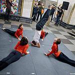 Акция «Ночь йоги в метро»
