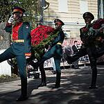Студенты-медики поздравили фронтовиков в Днём Победы