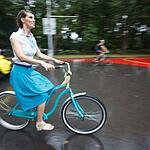 ВелоПарад Кинодив ХХ века прошел в Сокольниках