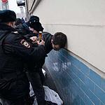 Акция в поддержку оппозиционера Ильдара Дадина у стен Басманного суда