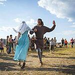 IX фестиваль исторических клубов Воиново поле прошел в Парке Дракино