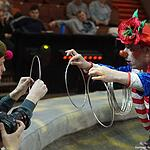 Журналисты в цирке