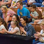 Большой Московский цирк пригласил маленьких подопечных фонда «Даунсайд Ап» на репетицию