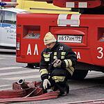 Пожар в Минестерстве обороны