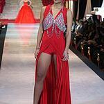 Показ модного дизайнера Галии Ахматовой «50 оттенков красного»