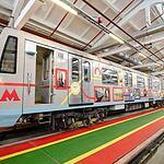 Новые вагоны на Таганско-Краснопресненской линии