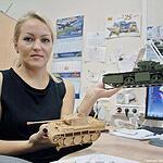В Лобне делают танк «Армата»