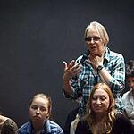 Эскиз спектакля «Недоросль»