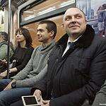 Звёзды ездят в метро