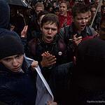 Митинг в день рождения Путина